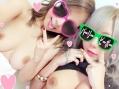 【個人撮影】パリピ系ビッチギャル姉妹がイケメンのピンクちんぽをむしゃぶる【ハメ撮り】